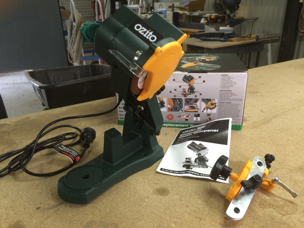 Electric Chainsaw Sharpener Product Review